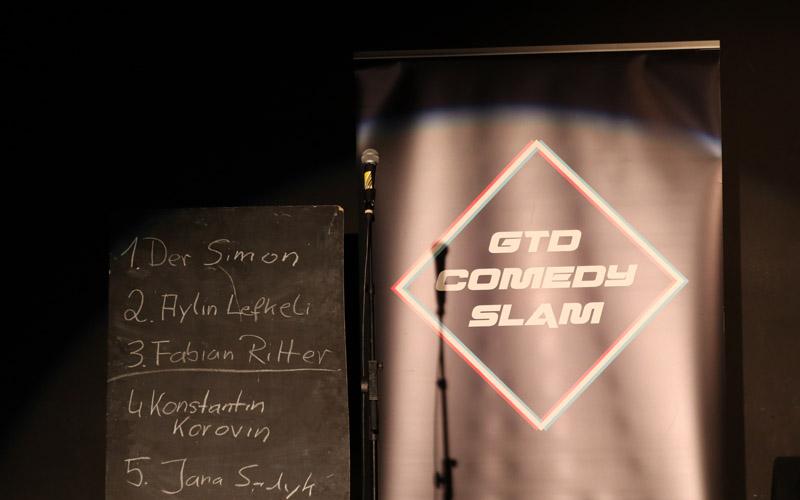 GTD Comedy Slam in Würzburg im Februar
